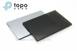 4mm-10mm Coated Reflective Black Construction Glass (R-B) pictures & photos