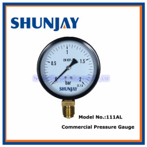 100 Inch Commercial Pressure Gauge