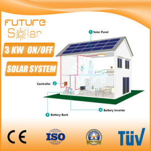Futuresolar 3 Kw Solar PV Panel Solar System for Home pictures & photos