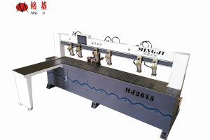 Woodworking CNC Control Horizontal Drilling Machine pictures & photos