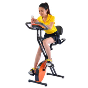Folding Upright Magnetic Exercise X-Bike pictures & photos