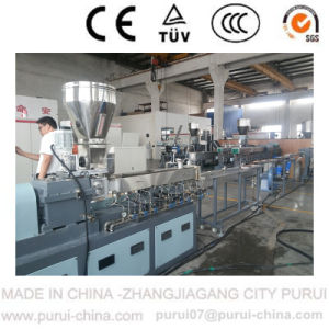 Color Master Batch Twin Screw Pelletizer Extruder for Lab. pictures & photos