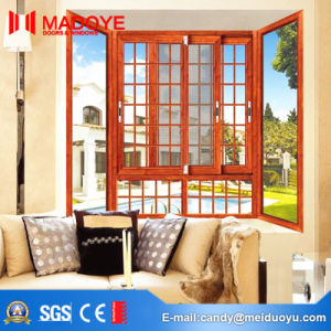 Aluminum Sliding Glass Window with Toughened Glass pictures & photos