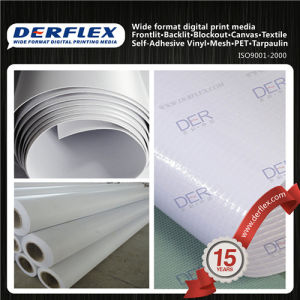 Super Flat Hot Fabric Cold Lamination Flex PVC Banner pictures & photos