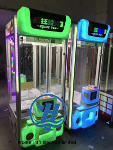 Vending Machine Claw Gift Game Machine (ZJ-CGA-3) pictures & photos
