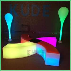 LED Bend Stools Bend Cubes Colorful Cube Chairs with Cushion pictures & photos