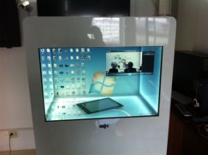 Interactive 47 Inch Touch Hot Sale Transparent Window Screen, Custom Flexible Transparent LCD Display pictures & photos