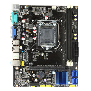 2017 Selling Desktop Motherboard with 2*DDR3 H61-LGA1155 pictures & photos