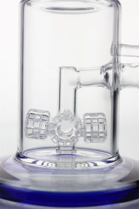 """12""""Inch Glass Smoking Pipe Percolators with Four Tyre to Recycler pictures & photos"""