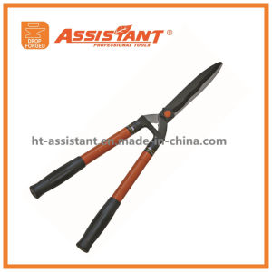 Teflon Coated Blade Hedge Shears with Telescopic Steel Handles pictures & photos