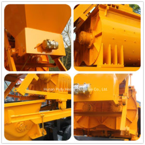 Movbile Mini Concrete Mixer with Pump Construction Machinery pictures & photos