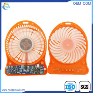 Automotive Electronics Parts Plastic Injection Moulding for USB Electric Fan pictures & photos