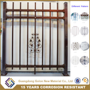 Decorative Wrought Iron Fence Designs pictures & photos
