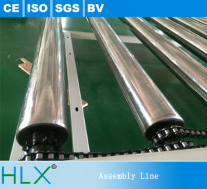 Groove Conveyor Roller, Conveyor Roller with High Precious Bearing pictures & photos