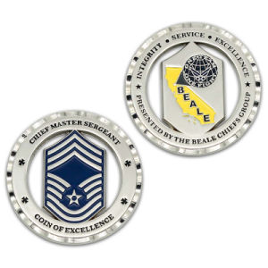 Promotion Zinc Alloy Die Casting Challenge Coin Shopping Zinc Alloy pictures & photos