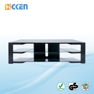 Cheap Glass Outdoor Modern LED LCD TV Stand pictures & photos