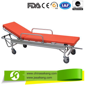 China Manufacturer Luxury Emergency Patient Stretcher Trolley pictures & photos