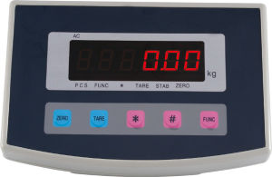 The Meter Scale Plastic Material, Clear Display, Weight pictures & photos