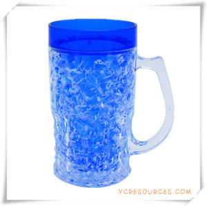 Double Wall Frosty Mug Frozen Ice Beer Mug for Promotional Gifts (HA09071-1) pictures & photos