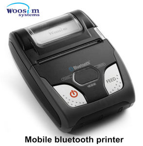 Woosim Wsp-R240 58mm Ios Mini Mobile Bluetooth Thermal Receipt Printer pictures & photos