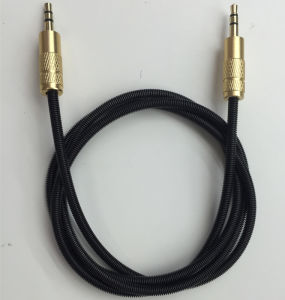 High Performance Car Audio 3.5mm Stereo Aux Cable pictures & photos