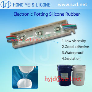 Liquid Potting Silicone Rubber for LED with 55 Shore a Hardness pictures & photos