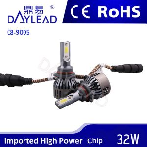 Super Brightness 6000k 2800lm LED Headlight with COB Chip
