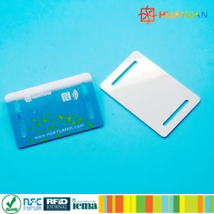 Event Management NTAG213 Festival Fabric Woven RFID Wristband pictures & photos