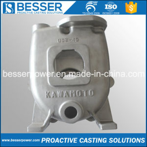 High Temperature Resistance Stainless Steel Pump Casting Product