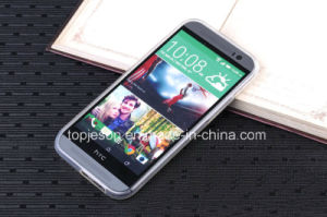HTC One M8 High Clear TPU Soft Case pictures & photos
