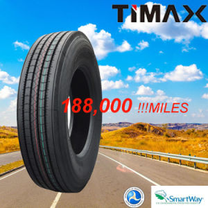 180000 Miles Quality Steer Trailer 11r22.5 Radial Truck Tire with DOT Smartway pictures & photos