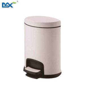 Max New Rose Gold Stainless Steel Pedal Foot Operated Trash Waste Garbage Bin for Hotel Room pictures & photos