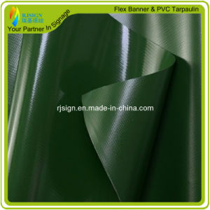 Flame Resistant PVC Coated Tarpaulin for Outdoor Decoration/Roof pictures & photos