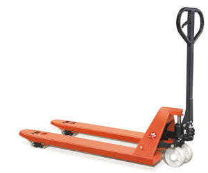 2000kg Cheap Hand Pallet Truck with Nylon Wheel pictures & photos