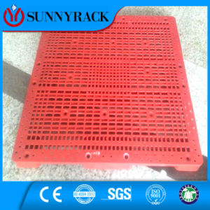 HDPE Plastic Pallet with Steel Ribs pictures & photos