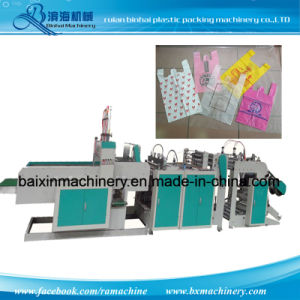 Plastic Carry Grocery Bag Making Machinery pictures & photos