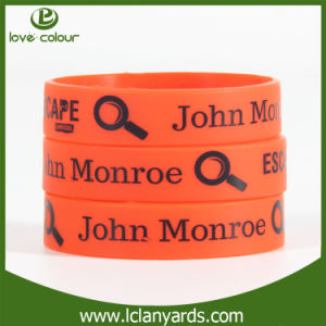 Music Festival Custom Party Rubber Silicon Bracelet with Logo