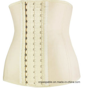 2017 New Arrival Waist Slimming Belt Latex Waist Trainer Corset pictures & photos