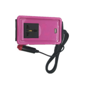Super Mini 150W brand new car inverter with difference color pictures & photos