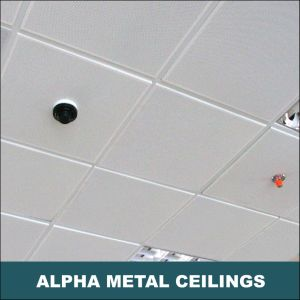 Aluminum Metal Suspended False Decorative Exposed Indoor Lay in Ceiling pictures & photos