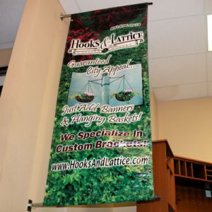 High Quality Durable Wall Mounted Double Sided Banner Printing pictures & photos
