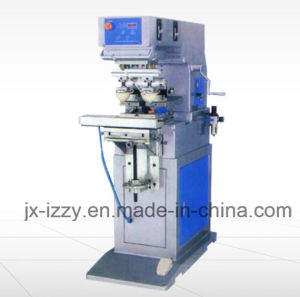 Double Color Pad Printing Machine with Shuttle Plate