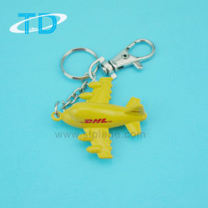 Diecast DHL Aircraft Model Metal Keychain Promotional Gift pictures & photos
