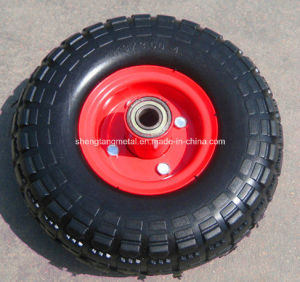 PU Foam Wheel Tire 10 Inches Tool Cart PU Foam Wheel