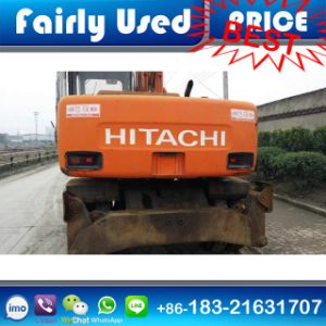 Used Original Hiatchi Ex100wd Excavator with Jack Outrigger for Sale
