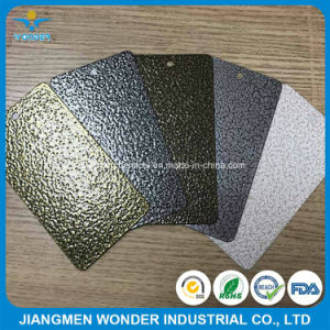 Pure Polyester Silver Copper Vein Finish Hammer Texture Exterior Powder Coating pictures & photos