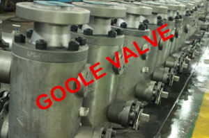 Forged Steel Double Flange Dbb Valve (GAQ41F) pictures & photos