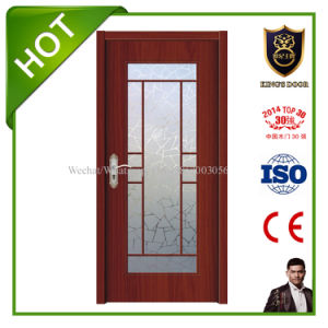 Veneer Laminated Wooden Glass Door for Kitchen Room pictures & photos