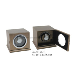 Brown Leather Square Shape Single Watch Winder pictures & photos