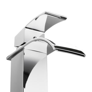 Countertop Single Handle Waterfall Bathroom Basin Faucet pictures & photos
